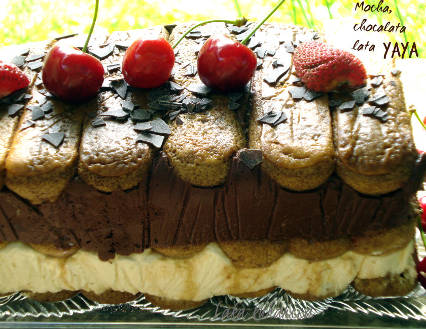 Mocha, chocalata lata yaya ili Voulez-vous coucher avec moi ce soir by Laka kuharica: decadent and sexy dessert to be eaten on hot summer nights.