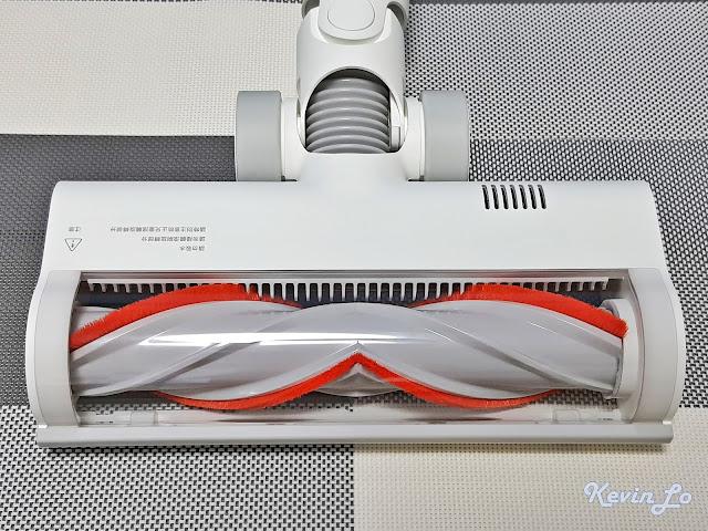 【MI 小米】米家無線吸塵器 G9 (白色) 開箱_高扭力地刷