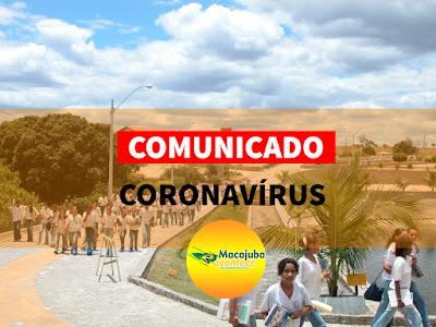 Coronavírus suspende aulas em Macajuba