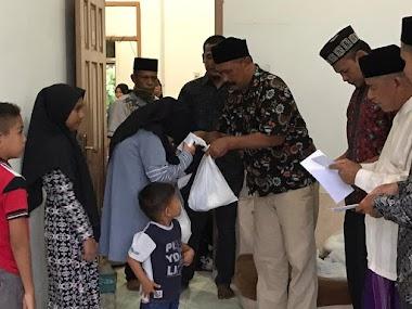 FORBA Aceh Serahkan Bingkisan Lebaran Bagi Anak Yatim dan Dhuafa