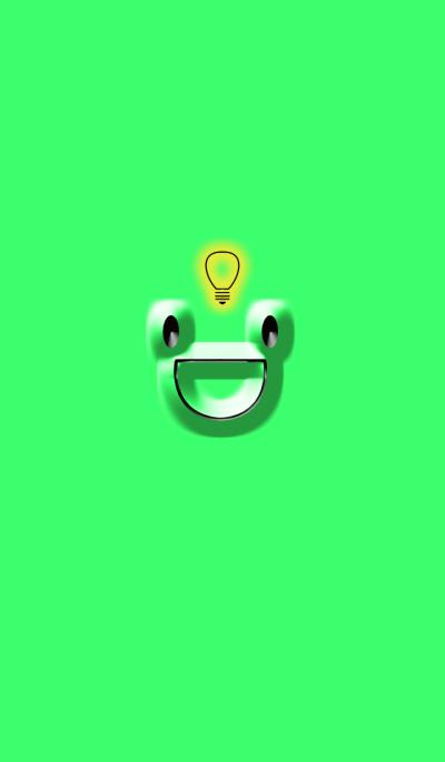 Green frog frog