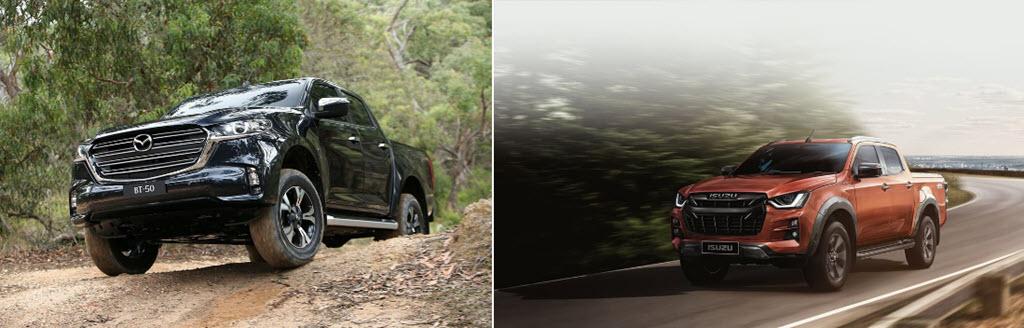 Mazda BT-50 2021 lựa chọn Isuzu D-Max để phát triển