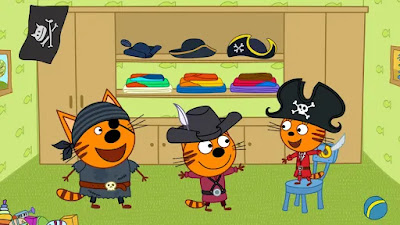 Unlock game Kid-E-Cats Pirate treasures