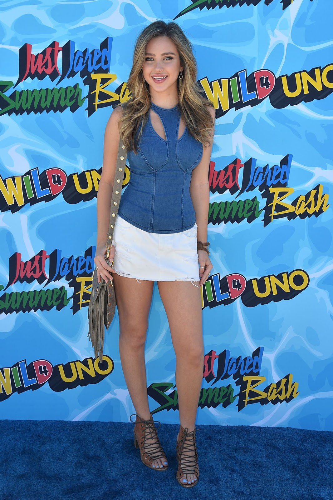 HQ Photos of Ryan Newman at 4th Annual Just Jared Summer Bash in Beverly Hills
