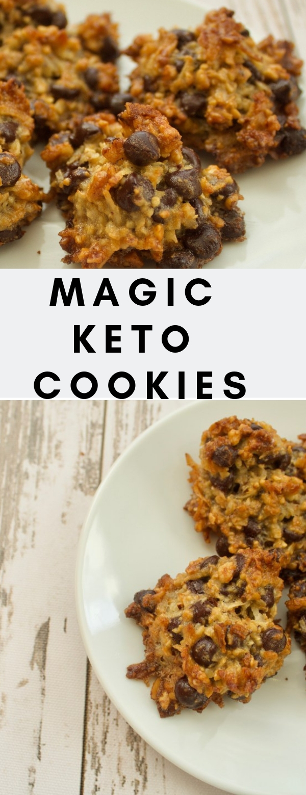 Magic Keto Cookies #DESSERT #COOKIES #KETO #LOWCARB #KETONUTRITION