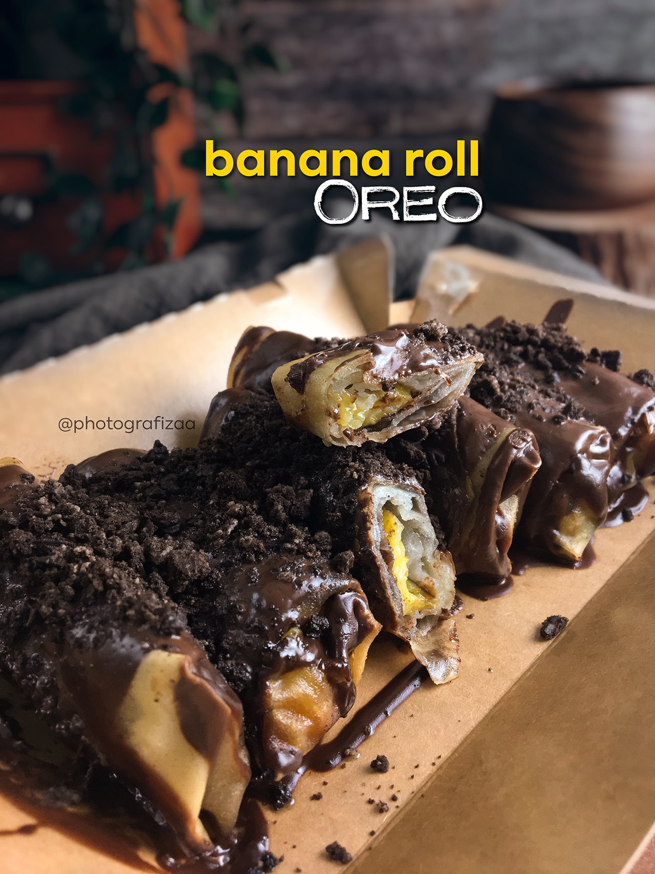 banana-roll-oreo-coklat-melimpah