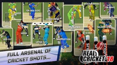 Real Cricket™ 18 (Unreleased) MOD APK Unlimited Money Unlocked v1.0 Offline Android Gratis