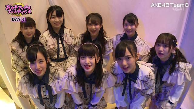 AKB48 Team 8 – TV Asahi Roppongi Idol Festival 2019 191012 (TV Asahi)