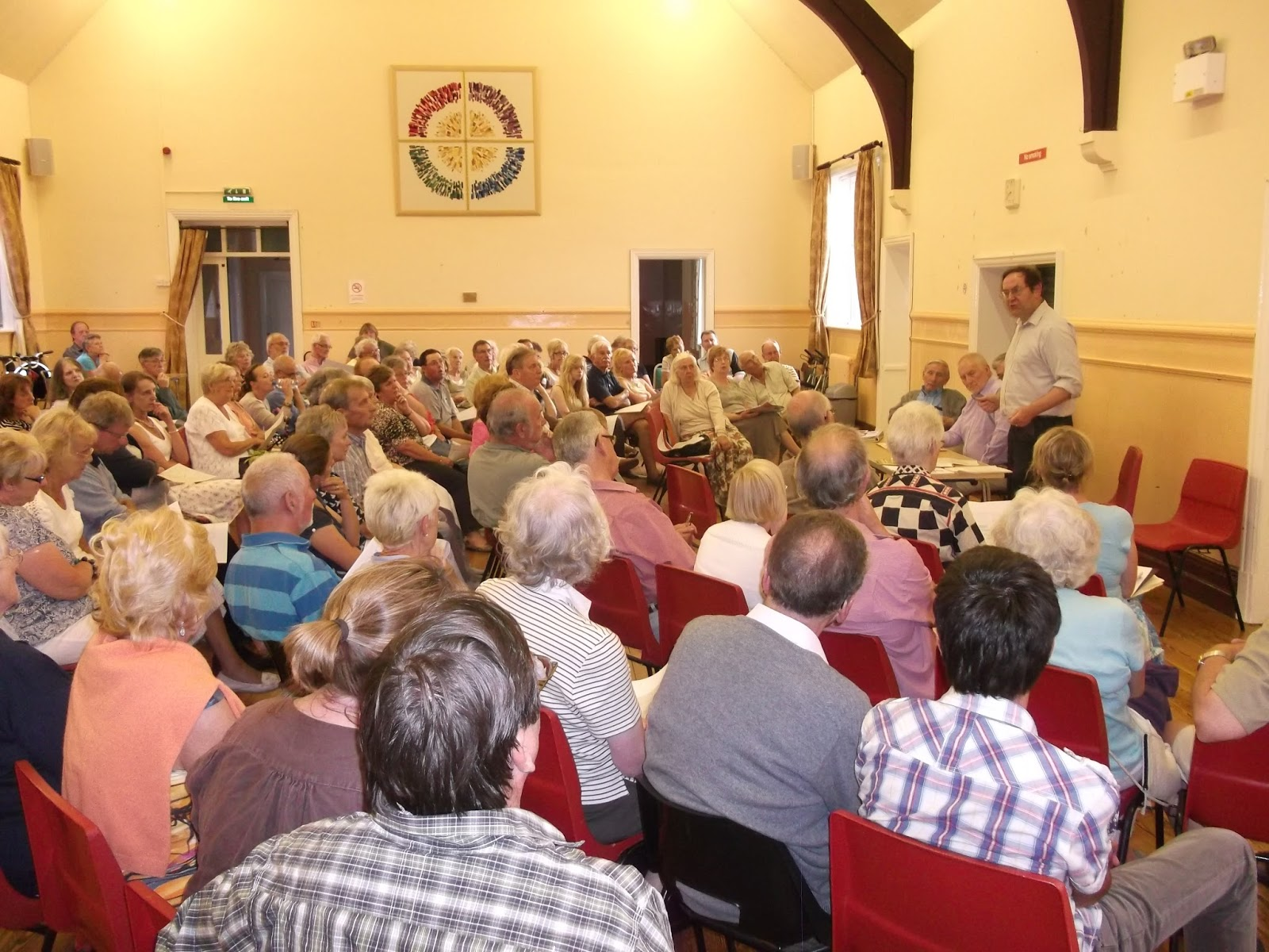 Transport Chair Cvs Gaming Chairs For Ps4 Birkdale Focus Packed Public Meeting Plans Action Over