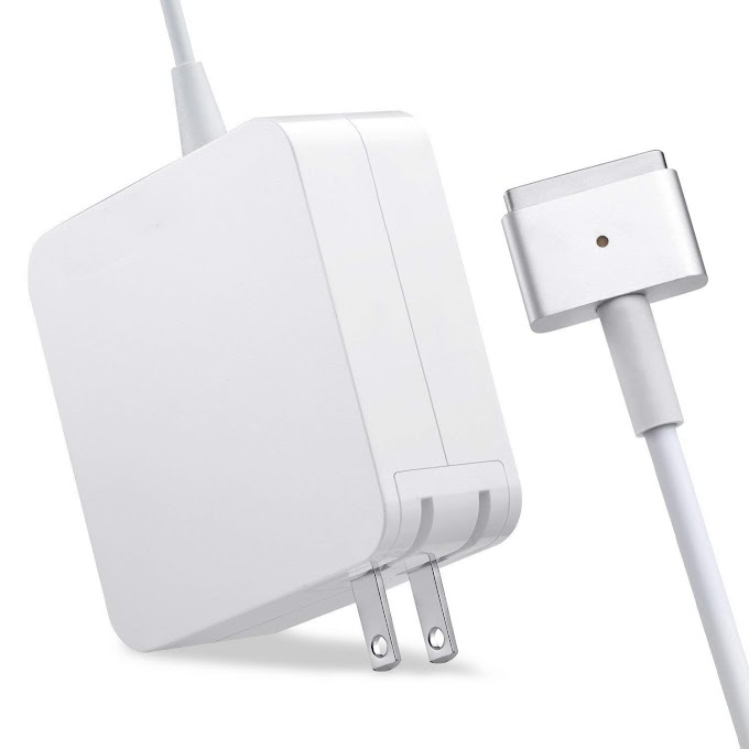 AMAZON - 50% off Mac Book Pro Charger, AC 85w Magsafe 2 Power Adapter for MacBook Pro 17/15/13 Inch