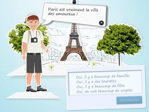 http://parlons-francais.tv5monde.com/webdocumentaires-pour-apprendre-le-francais/Jeux/Niveau-debutant/p-574-lg0-Bavardons.htm#.WoRT87NG3Dd