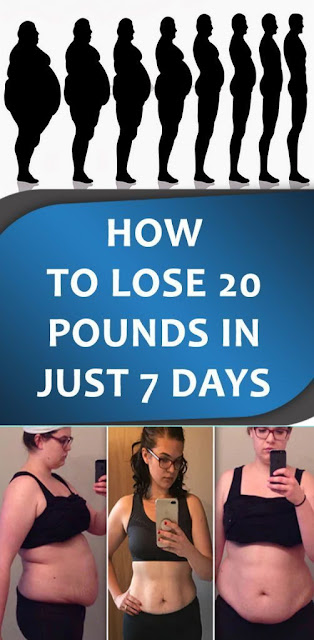 How To Lose 20 Pounds In Just 7 Days!