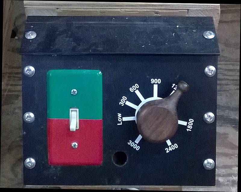 The Wood Knack: Variable speed lathe using a DC treadmill