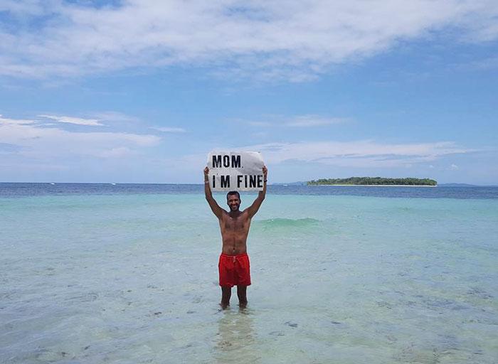 Jonathan Quiñonez largou tudo para viajar pelo mundo