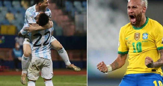 Brazil-Argentina: Where to watch the match streaming? Chain and more.