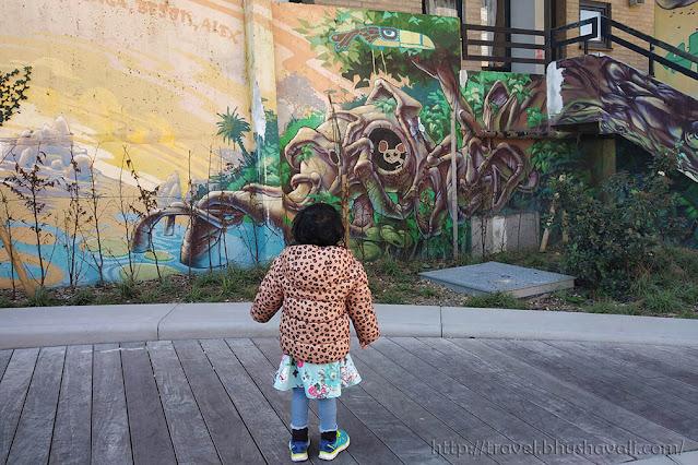 Street art in Ottignies-Louvain-la-neuve Kosmolite Art Tour