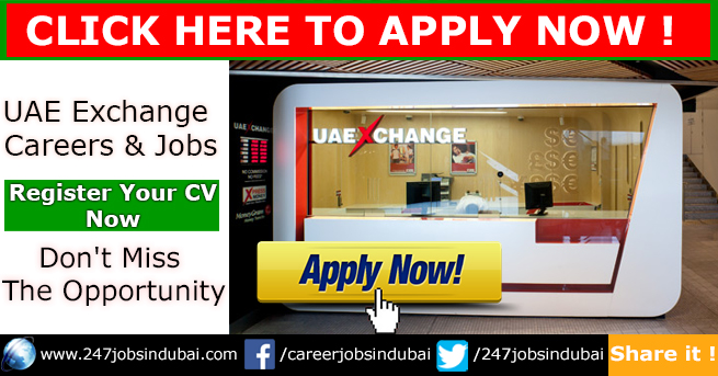 Latest Jobs Vacancies and Careers at UAE Exchange