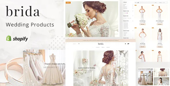 Best Wedding Fashion & Bridal Shop Shopify Theme
