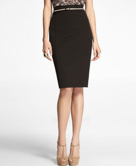 d9fbde097e I got it in my normal Express pencil skirt size - 2. Here s the picture of  it on the model