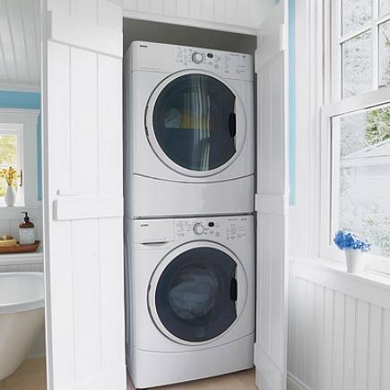 Стиральная машина на кухне: экономим место правильно