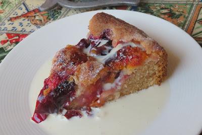 Spiced Plum Cake