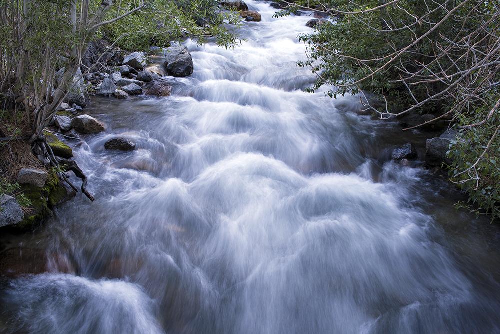 Big Pine Creek, Inyo National Forest, John Muir Wilderness, Nature, Running water, Camping