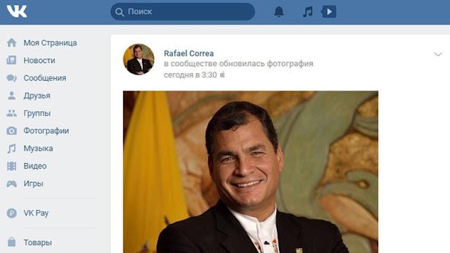 Rafael Correa, VK