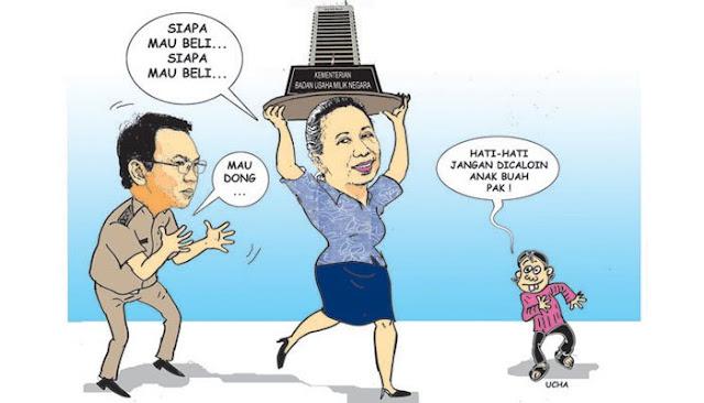 Menteri BUMN Akui Pemecatan Said Didu Karena Bersebrangan Dengan Pemerintah