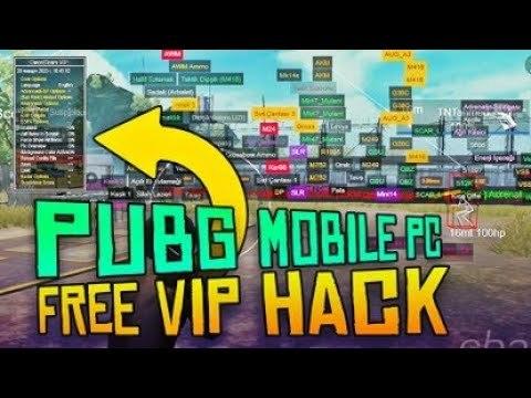 PUBG Mobile Aim Radar Hileli UPX Gameloop Hile Emulator