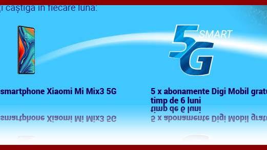 CONCURS Golul Etapei. Castiga pe www.digiromania.ro un smartphone Xiomi Mi Mix 3 5G