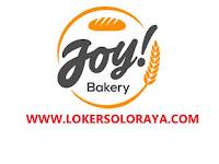 Loker Solo Raya di Joy! Bakery Maret 2021