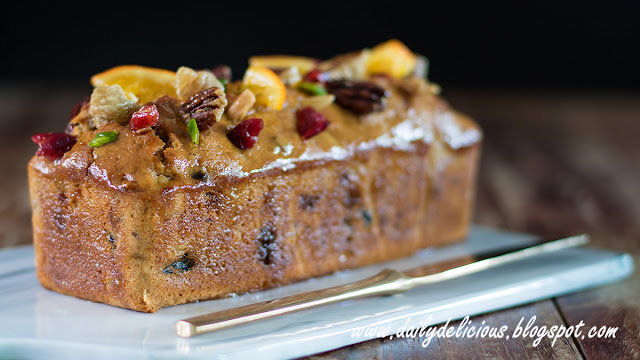 Make A Delicious Dark Rum Fruit Cake