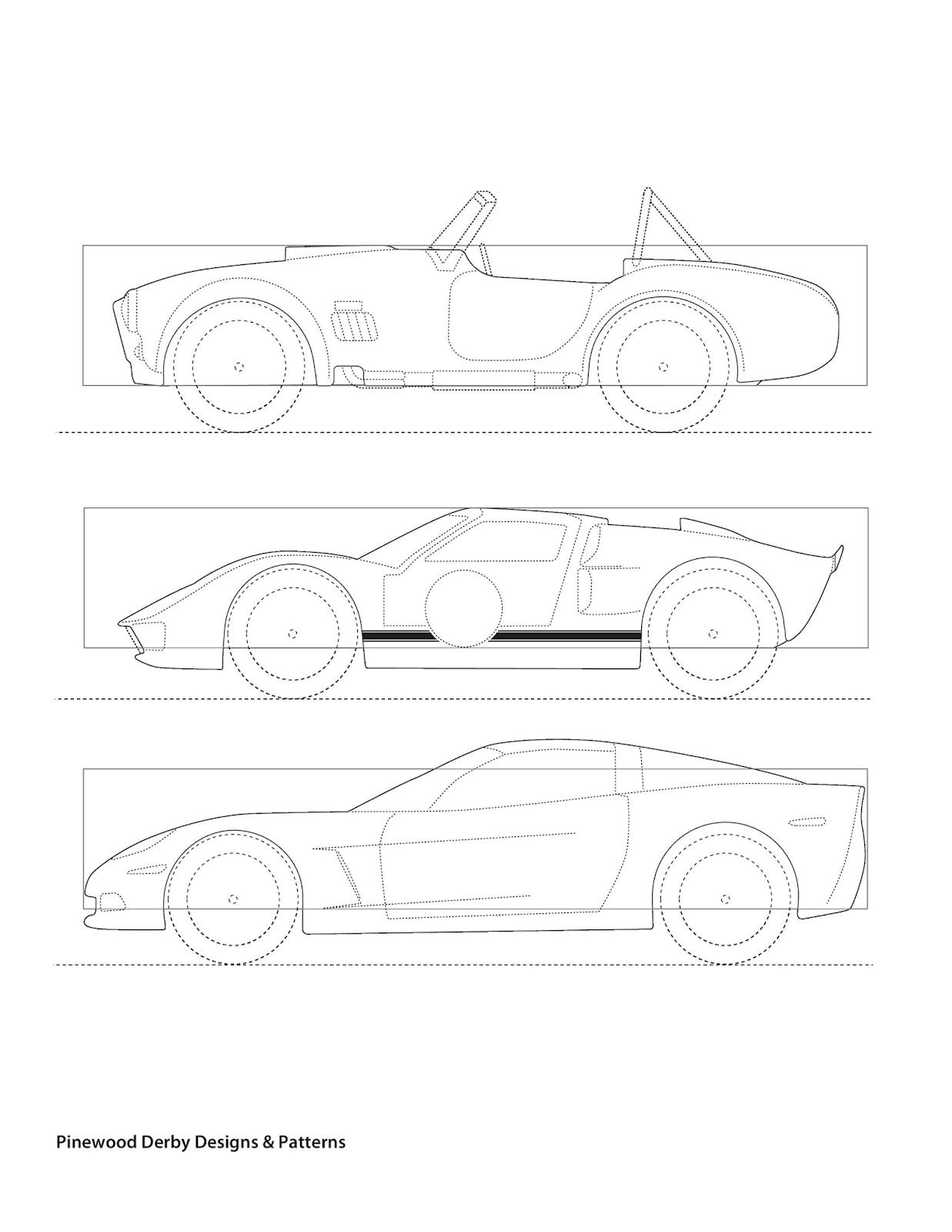 Auto Schablonen Für Die Wand