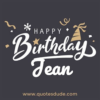 Happy Birthday Jean Image