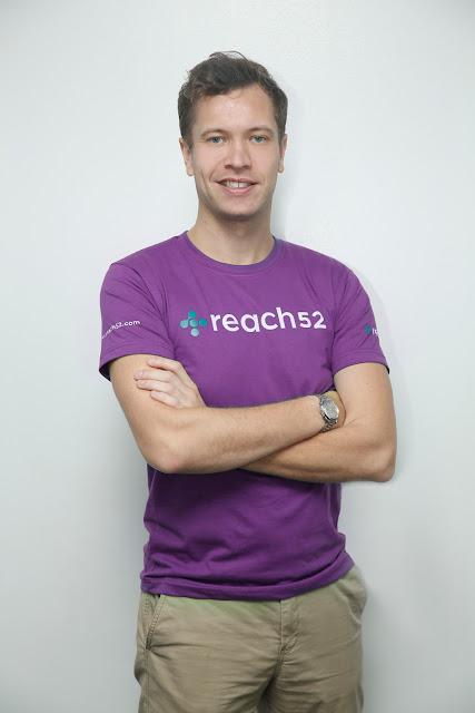 Edward Booty, Founder and CEO, reach52