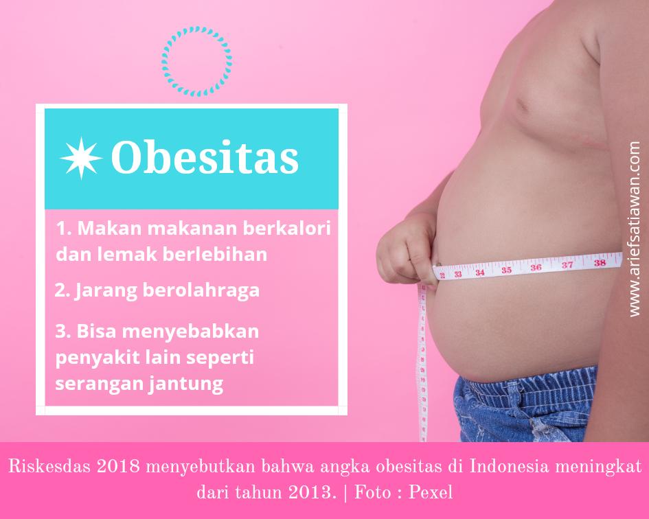 ancaman obesitas pada milenial