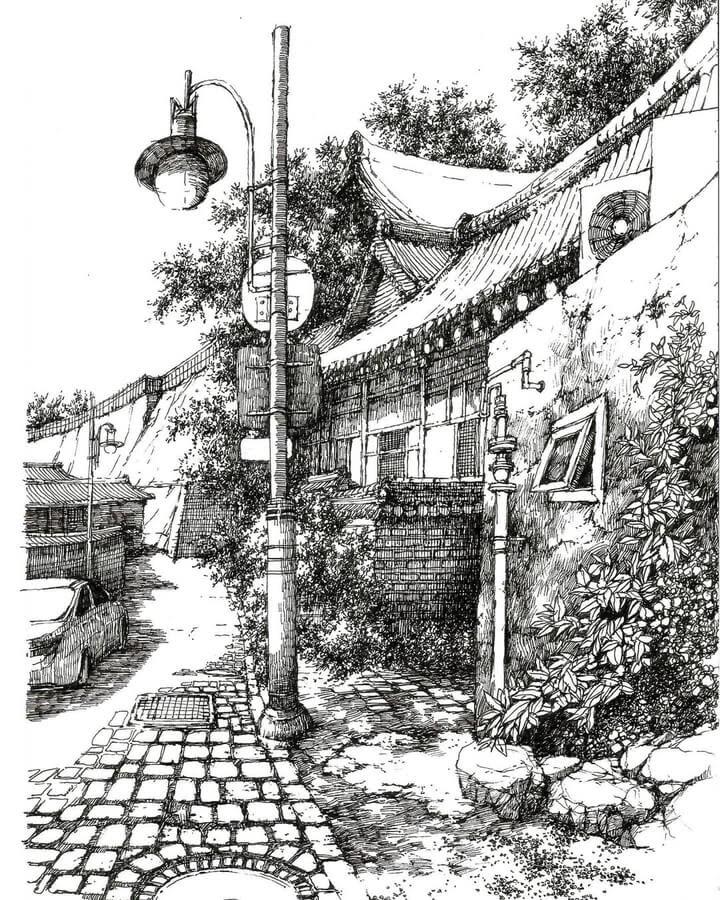 02-Cobble-stones-sketch_forum-www-designstack-co