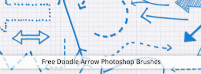 pinceles flechas hechos a mano Photoshop