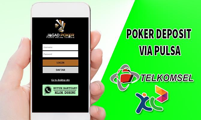 Daftar Situs Poker Deposit Via Pulsa 5000 10000 Pkv Games
