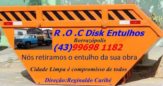R O C Disk Entulho em Borrazópolis