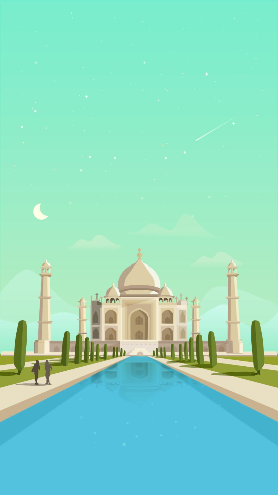 Taj mahal Mobile wallpaper