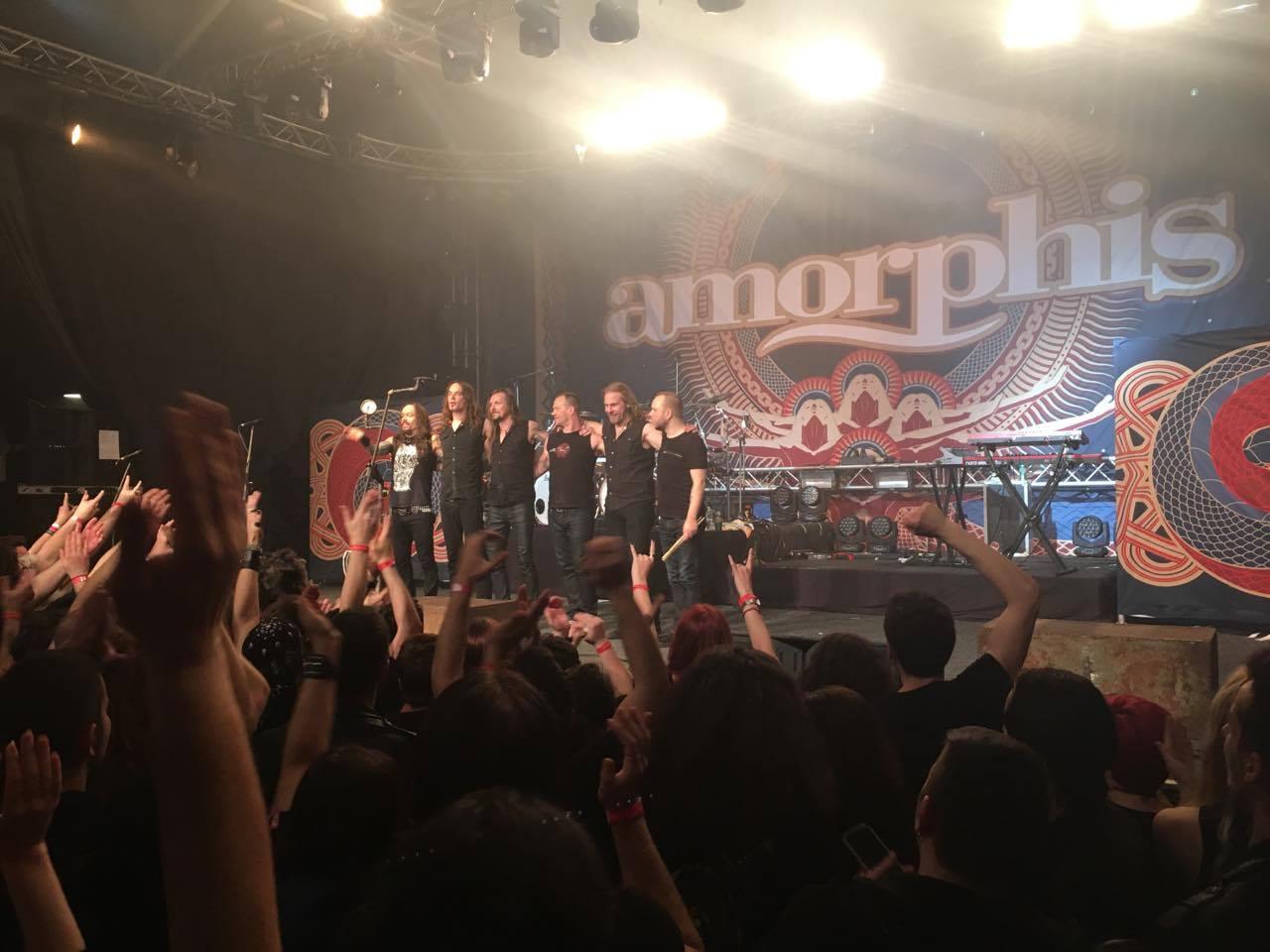 Amorphis la Bucuresti - Arenele Romane. Silviu Pal Blog
