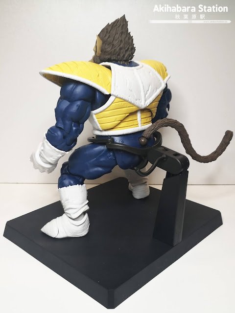 Review de S.H.Figuarts Great Ape VEGETA (Ohzaru) - Tamashii Nations