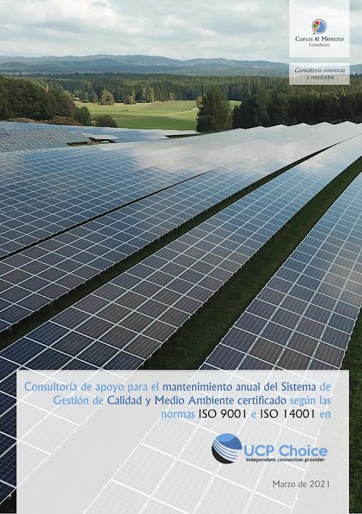 Contrato firmado entre Cuevas y Montoto Consultores y Power Choice S.L.