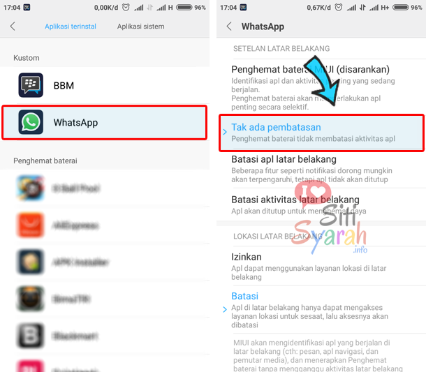 Cara Agar Notifikasi di Xiaomi Selalu Muncul
