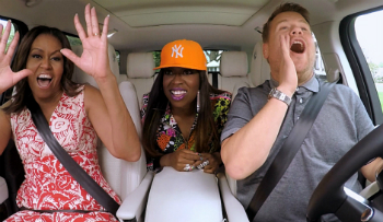 Michelle Obama, Missy Elliott and James Corden