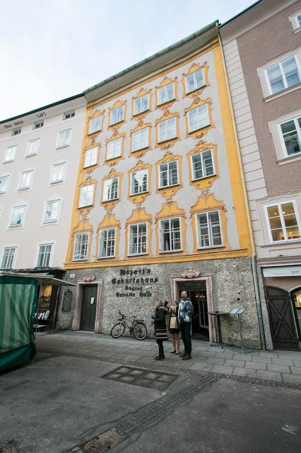 Casa natale di Mozart (Mozart's Geburtshaus)-Salisburgo