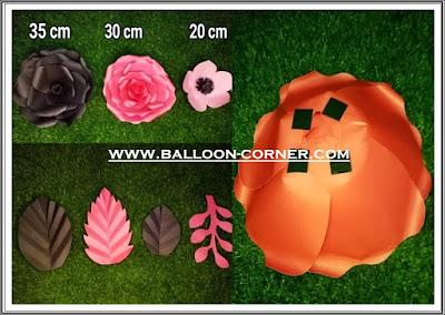 Paper Flower / Bunga Kertas (Paket A)
