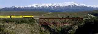 El tren patagonico cuenta con increíbles comodidades, además de las hermosas vistas