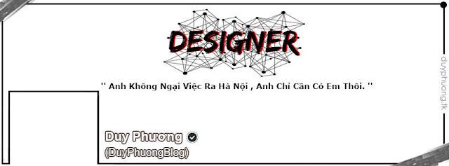 [ Ảnh Bìa ] DESIGNER | DUY PHƯƠNG
